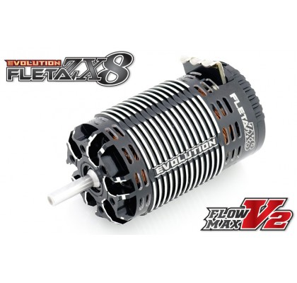 FLETA ZX8 Evolution 1/8th Scale Brushless Motor (1900KV)