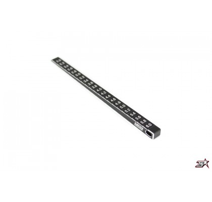 Two Side Ride Height Gauge, 2,0mm - 6,1mm, 0,1 mm steps