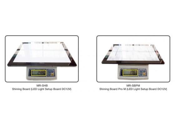 MUCH MORE Shining Board Pro M (LED Light Setup Board DC12V