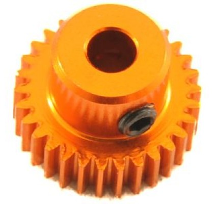 64p 37t Alu Orange Pinion