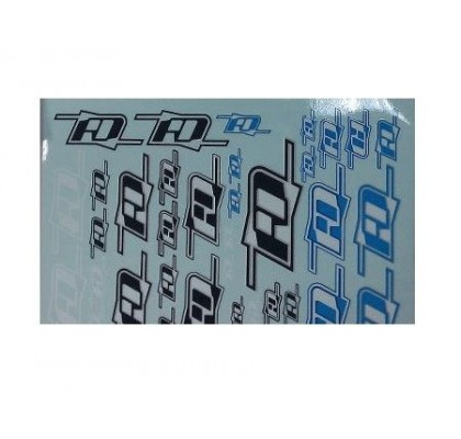 RDRP logo A5 decal sheet