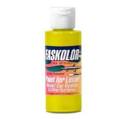 Fasescent Simli Sarı Su Bazlı Airbrush Boyası (60ml)