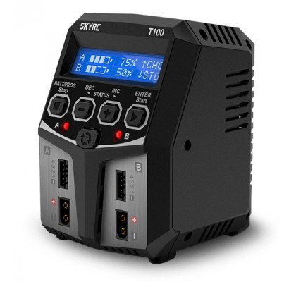 T100 Charger 240VAC 0.1-5A 2x50W