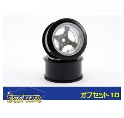 Street Jam Racing Heart Wheel 10mm
