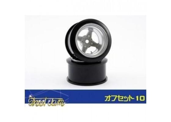 Street Jam Racing Heart Wheel 10mm