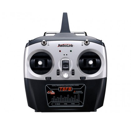 T8FB BEGINNER LEVEL 8CH PLANE RADIO +R8EF RECEIVER