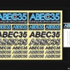 KROM ABEC35 DECAL