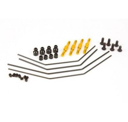 DEX410 Anti Roll Bar Set (FR & RR Alu Turnbuckles)