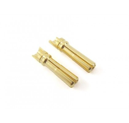 Euro Connector (Large Long 4mm) Male 2pcs.