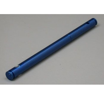 Front Pulley Shaft Blue Aluminum