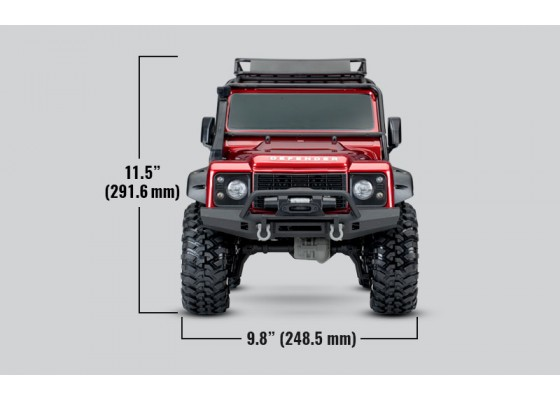TRX-4 Land Rover Defender Crawler 1/10 Crawler 2.4GHz