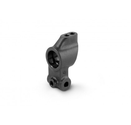 Composite Upright 0 Outboard Toe - Graphite - 2-Hole