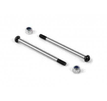 Arka Alt Dış Pivot Pin Vidası ve Somunu 3mm (2)