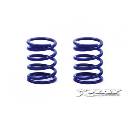 Springs - Set D=1.7 (25 LB) Dark-Blue - Soft-Medium - Rear (2)