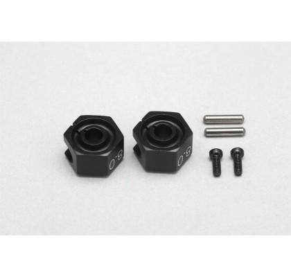 YD-2 Aluminum 8.0mm Cramp Wheel Hub (2pcs)
