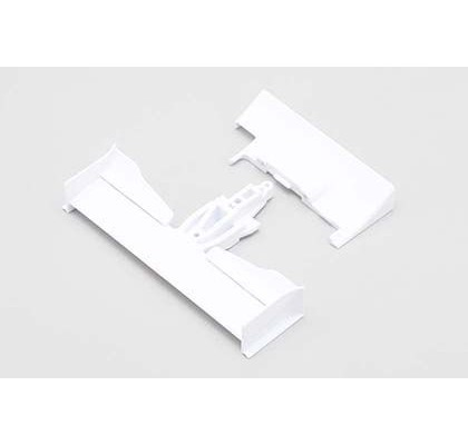 YRF Front Wing & Rear Diffuser - White