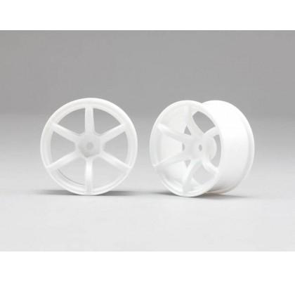 6 Kollu Beyaz Jant 6mm Offset (1 Çift)