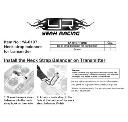 Neck Strap Balancer For Transmitter