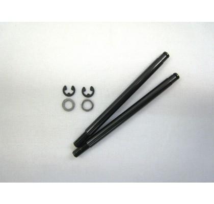 YZ-2 Front X33 Shock Shaft Black Diamond Coating